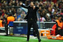Simeone Hits Assistant During Atletico-Bayern Champions League SF