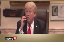 'SNL' Mocks Donald Trump For Pretending to Be His Own Publicist