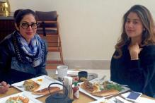 Snapshot: Sridevi's Lunch Date With Daughter Jhanvi In Batumi