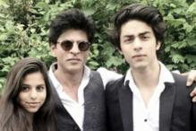 Shah Rukh Khan Doesn't Want Aryan, Suhana to Grow Up
