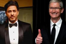 Shah Rukh Khan Refers to Apple CEO Tim Cook As a 'Rockstar'