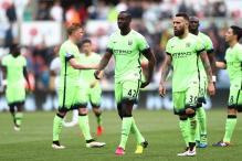 Manchester City Seal Champions League With 1-1 Draw at Swansea