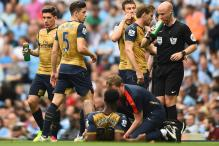 Arsenal's Danny Welbeck Hurts Knee, Doubtful for Euro 2016