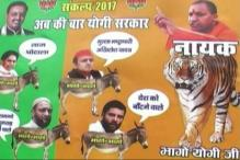 BJP, Congress Engage in Poster War in Gorakhpur