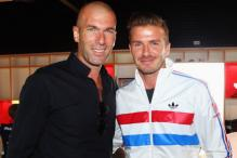 David Beckham Congratulates Zidane on Real Madrid's Win