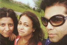 Karan Johar Asks Fans To Follow Zoya Akhtar On Social Media