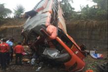 Bus Falls Into 20 Feet Deep Ditch on Mumbai-Pune Expressway, 17 Dead