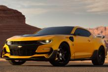 Transformers' Bumblebee Gets a Facelift as the Custom Chevrolet Camaro