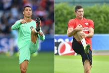 Ronaldo-Lewandowski Face Off for Euros Semis Slot