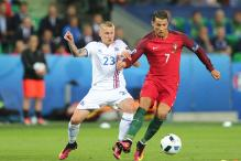 Ronaldo Hits Out at 'Small Time' Iceland After Draw in Euros