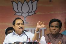 If I Open my Mouth, the Country Will Shake: Eknath Khadse