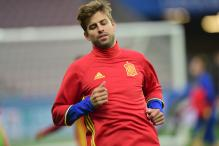 Gerard Pique Shrugs Off Anthem Gesture Controversy