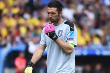 Fever-stricken Buffon Doubtful for Italy's Game Against Ireland