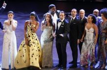 Smash Hit 'Hamilton' Sweeps the 'Tonys' With 11 Wins During Somber Ceremony