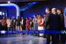 Watch: CNN-News18's Indian of The Year Award 2015