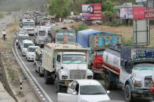 Transporters Protest Losses Due to Kashmir Shutdown