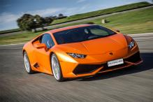 She's 40, A Mother of Three & Owns a Golden Lamborghini Huracan