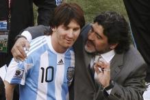 Messi Fails to Match Maradona Success in Argentina Shirt