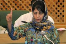 Mehbooba Mufti Blames Pakistan for Unrest in Valley