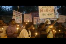 Residents of Amrapali Sapphire Project Protest Outside Noida SP's Office