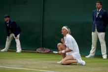 Former Champion Petra Kvitova in a Hurry to Reach Round Two