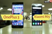 OnePlus 3 Vs Xiaomi Mi 5: Which is a Better Phone Under Rs 30K