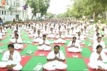 A Karnataka Boy Travelled To Delhi To Participate in Yoga Day Celebrations