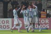 Argentina In Danger, War Torn Syria Eyes 2018 FIFA World Cup Berth