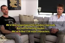 The Producers of GoT Talk About Hodor's Death and it is Hilarious