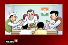Breaking Toon: Congress' Yuvraj to Get a Shot at the Top Job