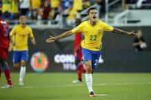 Coutinho Nets Hat-Trick as Brazil Rout Haiti 7-1 in Copa America