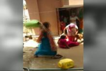 Watch: Women Caught in Ugly Brawl Over Water in Delhi