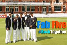 With Anil Kumble as Coach, Indian Cricket Now Run By 'Famous Five'