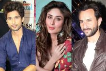 Watch: Kareena Collects Award From Saif As Boyfriend Shahid Cheers Her