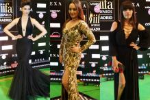 Deepika to Sonakshi: Stars Up the Glamour Quotient At IIFA Rocks Green Carpet
