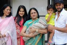 Riteish-Genelia Welcome the Youngest Member of Deshmukh Family