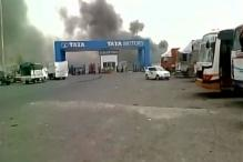 Fire at Tata Nano's Vendor Park in Sanand; No Casualties