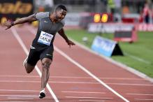 Gatlin Edges Webb to Win Fifth Rome Diamond League 100m Title