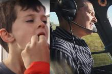 This Awesome Dad Pulled Out His Son's Loose Tooth With an Actual Helicopter