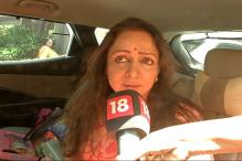 Day After Twitter Controversy, MP Hema Malini Stopped at Mathura