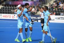 India Beat Ireland 2-1 in Six Nation Hockey Tournament