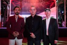 Irrfan Khan, Tom Hanks Walk The Red Carpet For 'Inferno' in Singapore
