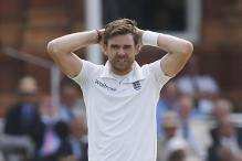 James Anderson Reprimanded Over Umpire Clash