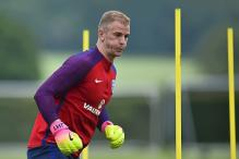 England Goalkeeper Joe Hart Arrives in Torino to Warm Welcome