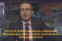 John Oliver Sums Up the Bleak Prospects of Britain Post Brexit
