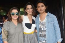 Kangana Attends 'Kriti' Press Meet; Varun Goes Traditional For a Shoot
