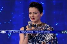 Kangana Ranaut Gets Special Achievement Award at IOTY 2015