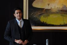 BCCI Names Anil Kumble as India's New Coach