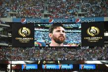 Teary-Eyed Messi Quits International Football