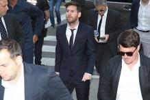 Messi Says He Signed Documents Under Father's Instructions